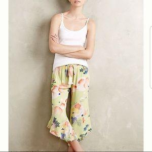 Anthropologie Eloise Calandra Koi Fish Lounge Pant